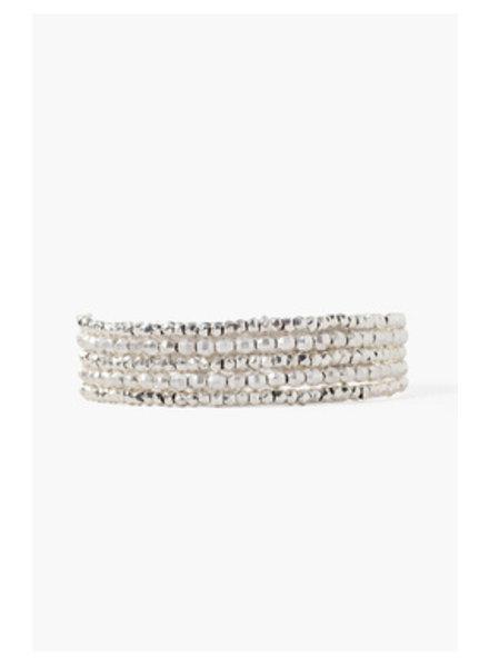 Chan Luu Wrap Bracelet Sterling Silver