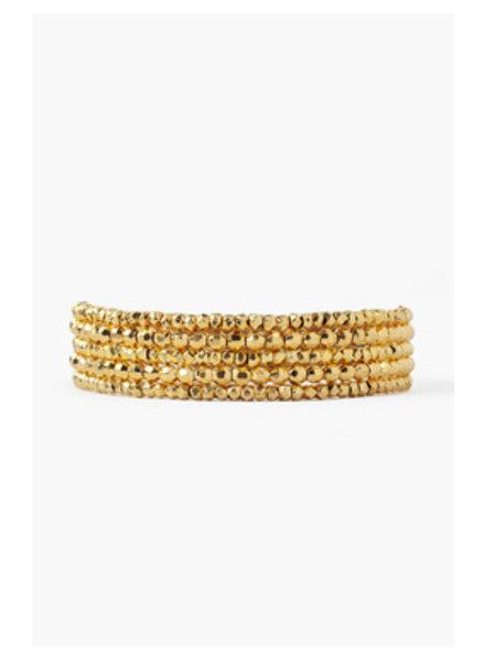 Chan Luu Wrap Bracelet Yellow Gold