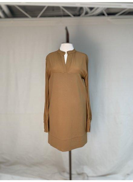Liviana Conti Mixed Media Dress