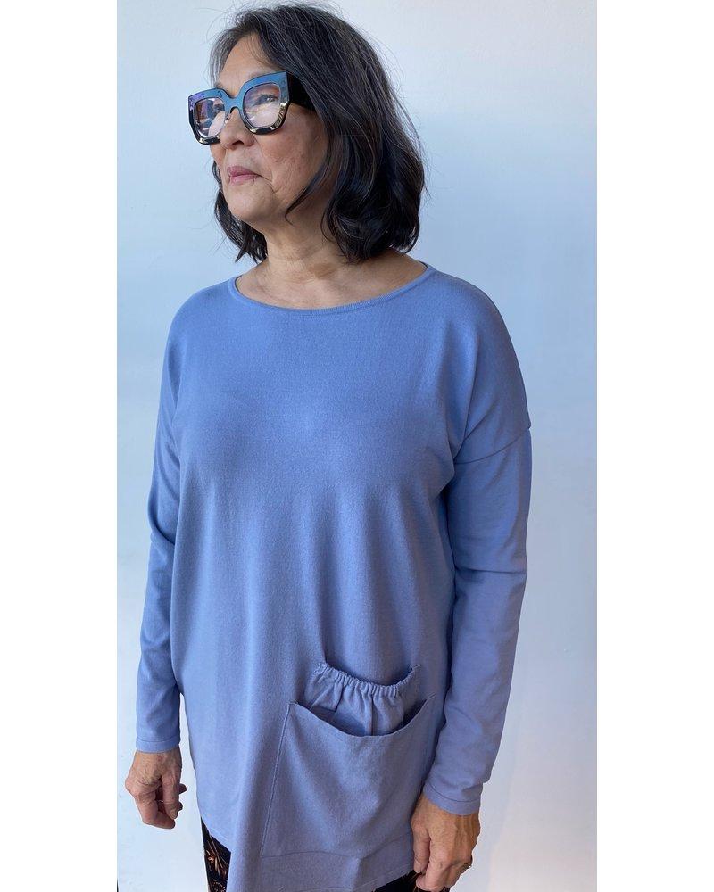 Sarah Pacini Double Pocket Knit