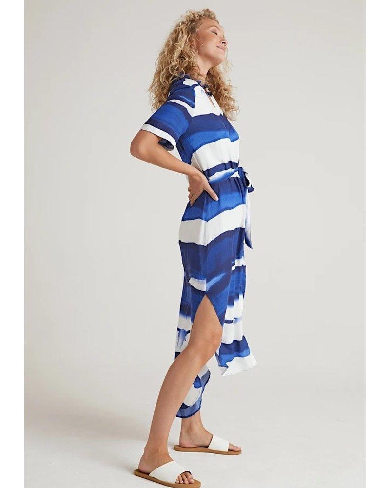 Bella Dahl Rounded Hem Maxi Shirt Dress
