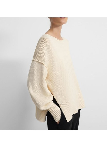Theory Chunky Split Pullover