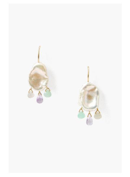 Chan Luu Pearl Chandelier Earrings