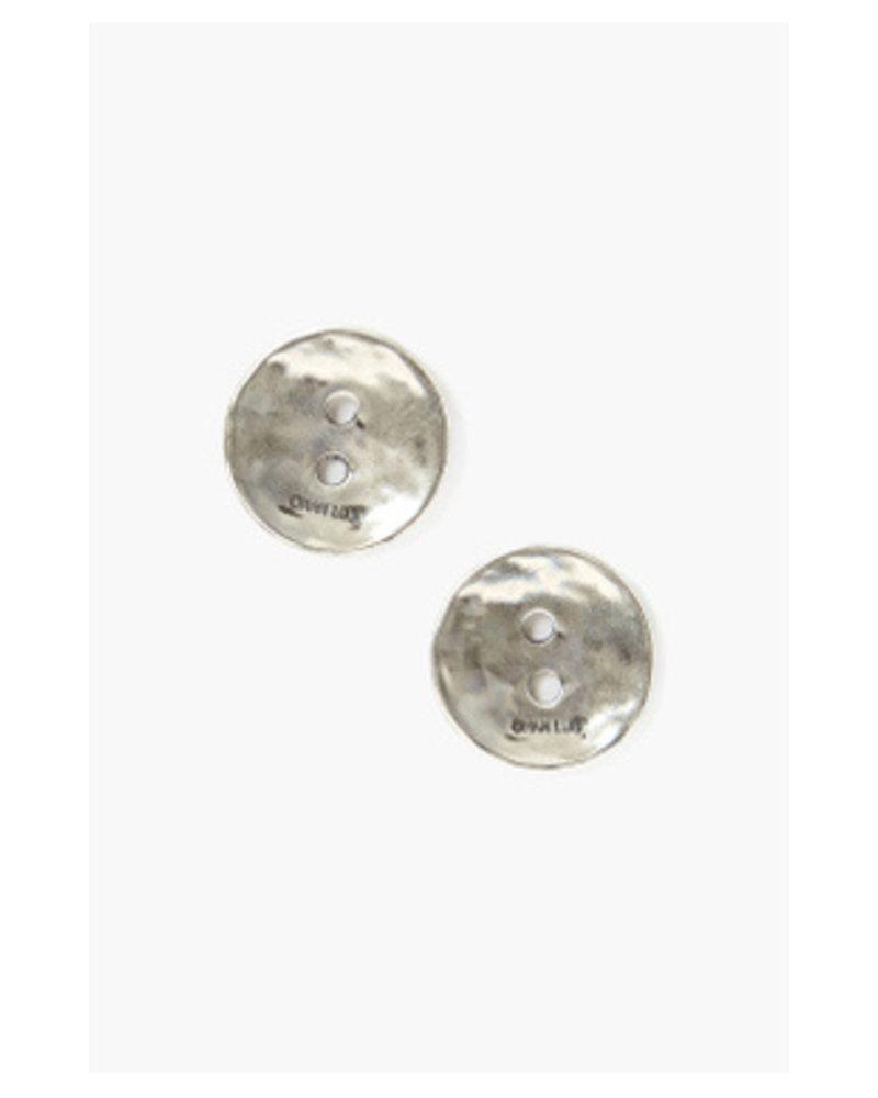 Chan Luu Button Earrings