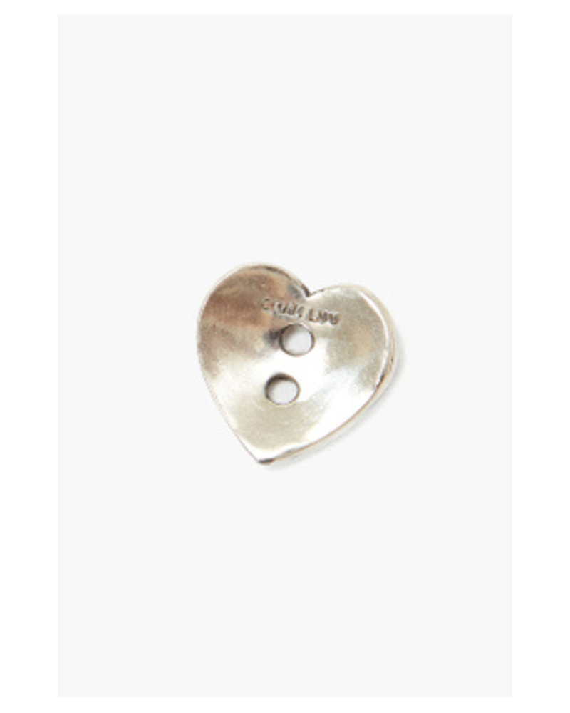 Chan Luu Heart Button Earrings