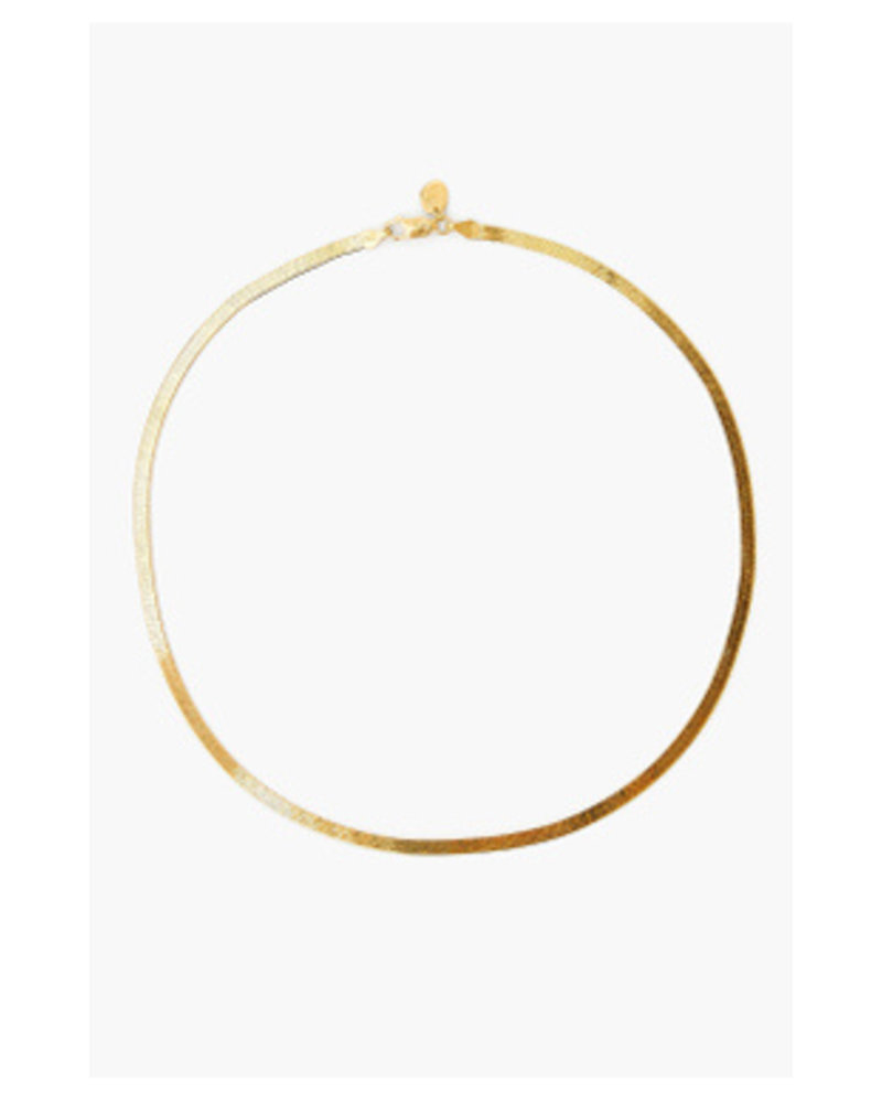 Chan Luu Herringbone Chain Necklace