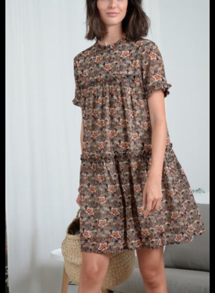 Molly Bracken Printed Shift Dress