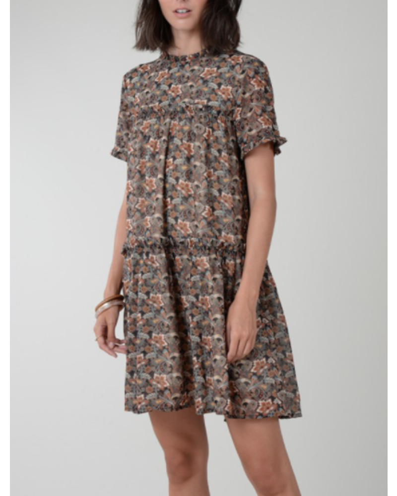 Molly Bracken Printed Shift Dress