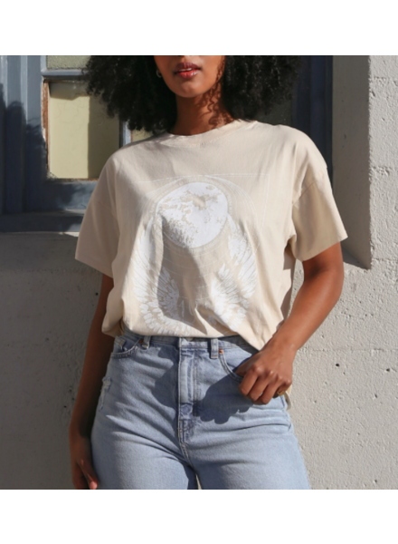 Brunette The Label Mystic Boxy Tee