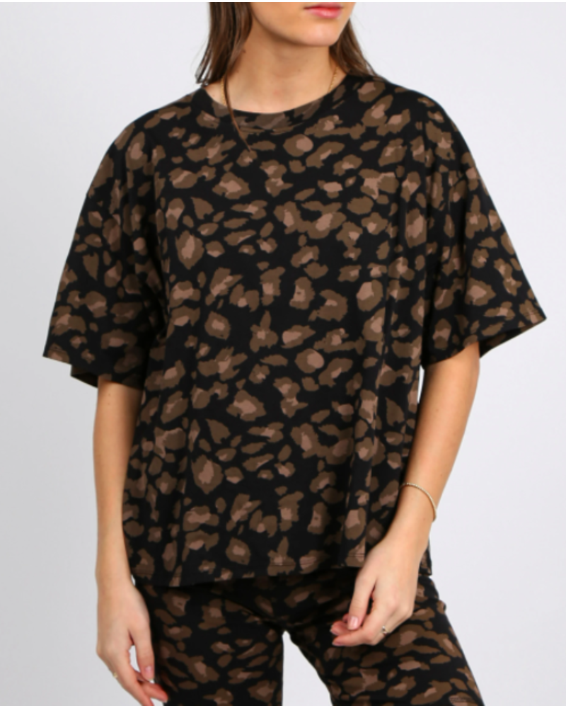 Brunette The Label Boxy Tee