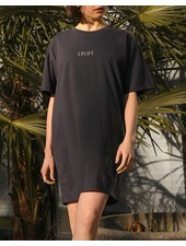 Brunette The Label Snake Print Tee Dress