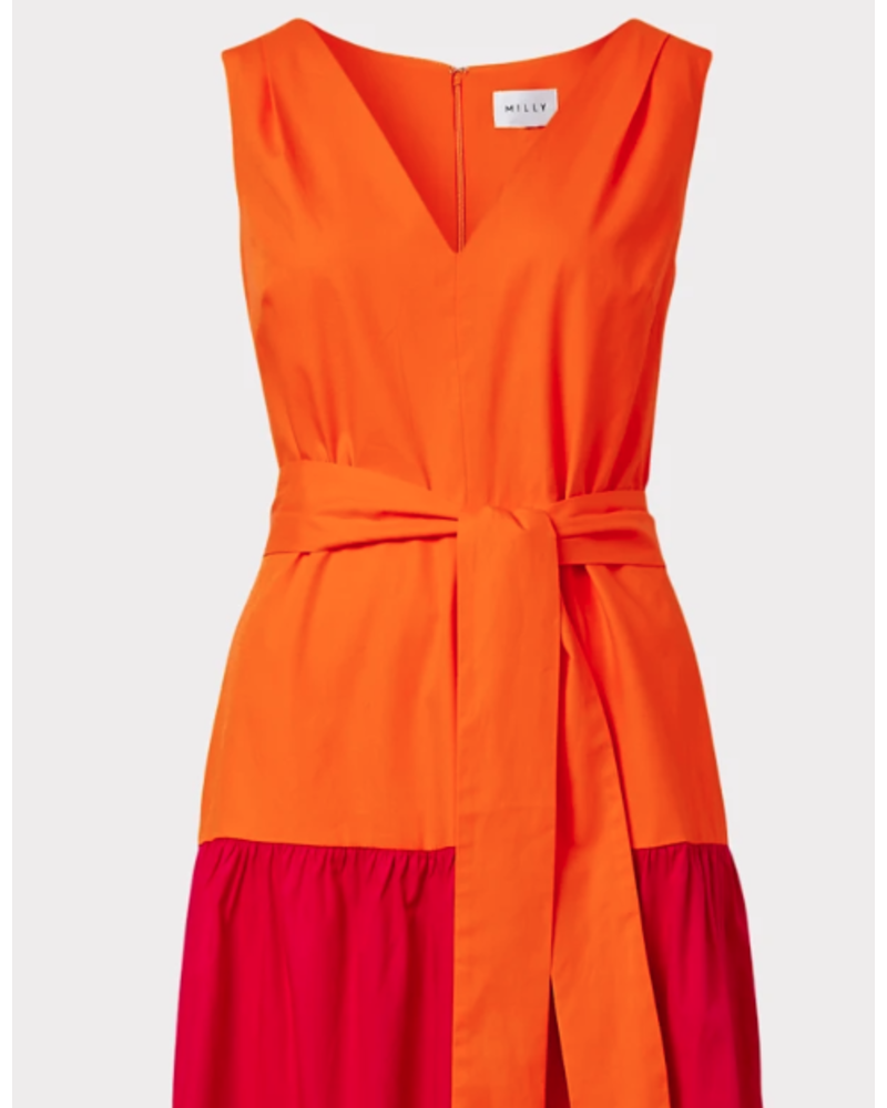 Milly Nicola Poplin Dress