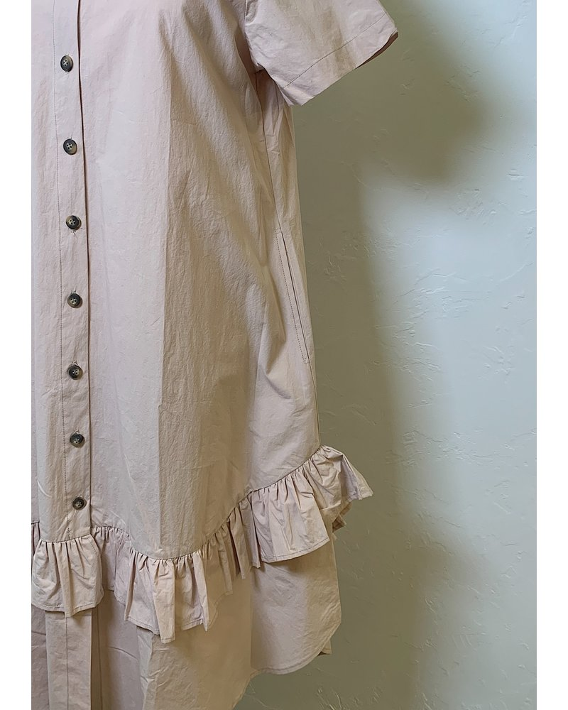 Amma Button Front Dress