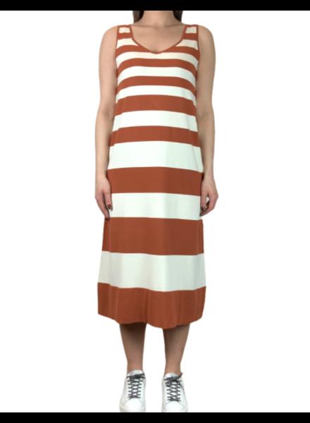 Liviana Conti Stripe Knit Dress