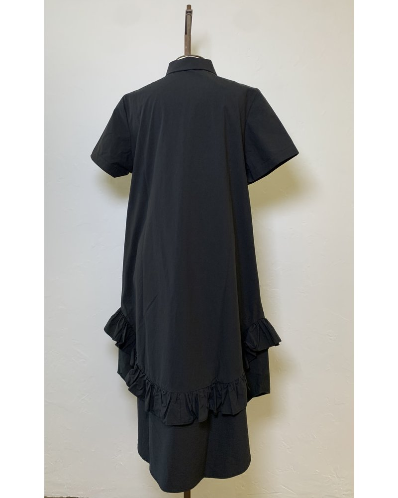 Amma Button Front Dress