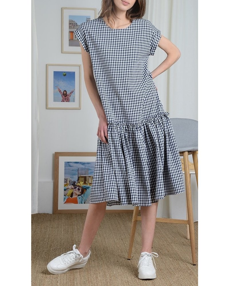 Molly Bracken Long Vichy Dress