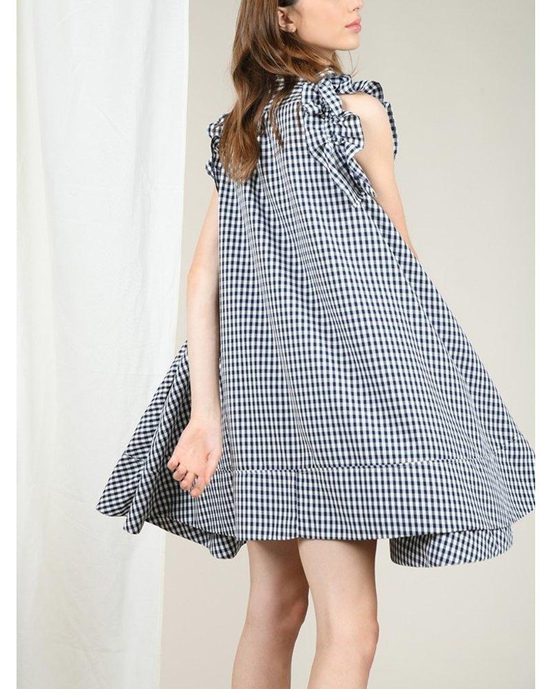 Molly Bracken Gingham Mini Dress