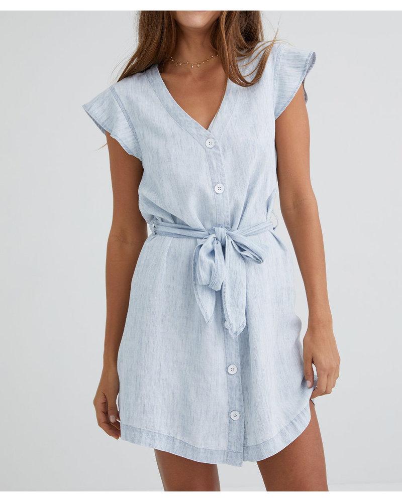 Bella Dahl Ruffle Sleeve Dress