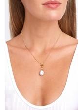 Chan Luu Pearl Toggle Necklace