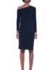 Norma Kamali Drop Shoulder Dress