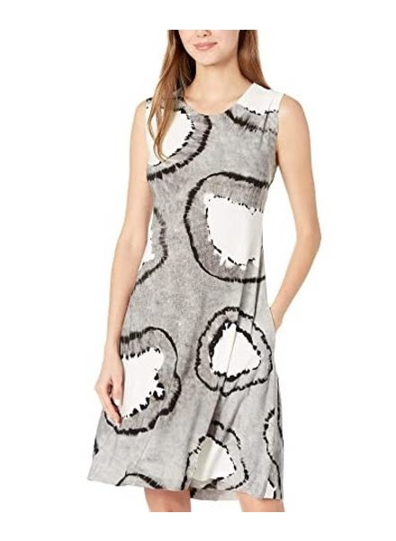Norma Kamali Sleeveless Swing Dress