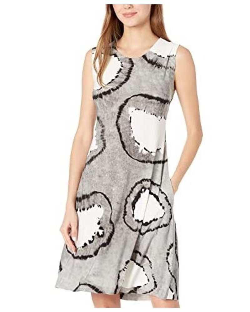 Norma Kamali Sleeveless Swing Dress