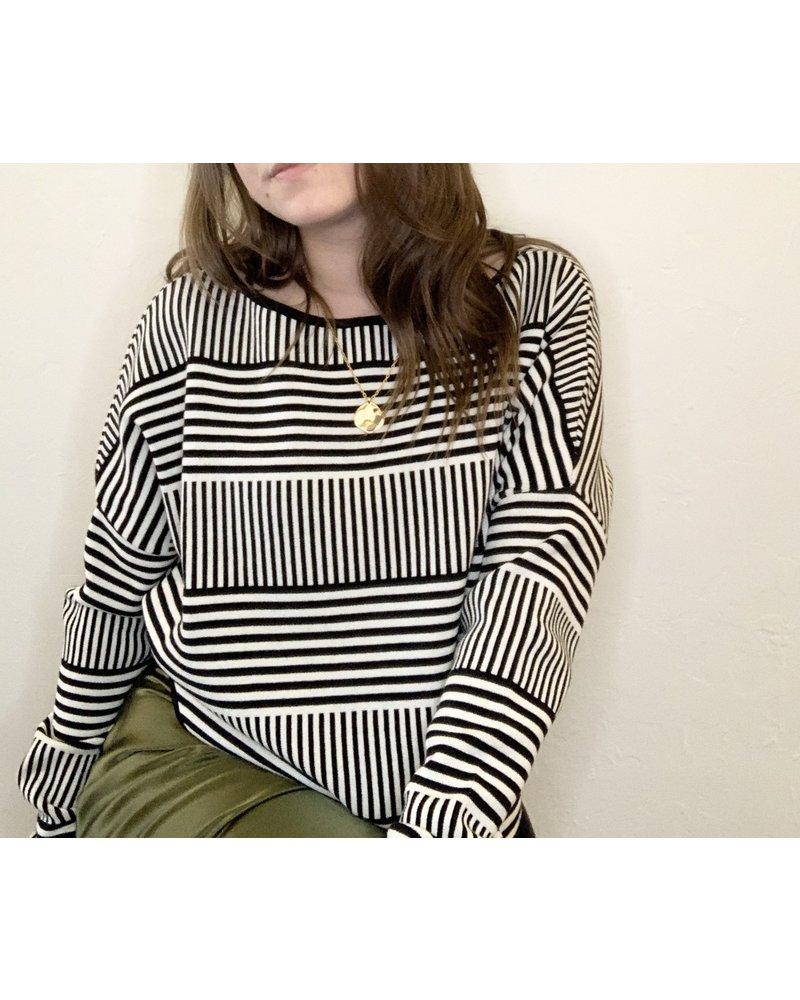 Sarah Pacini Stripe Knit