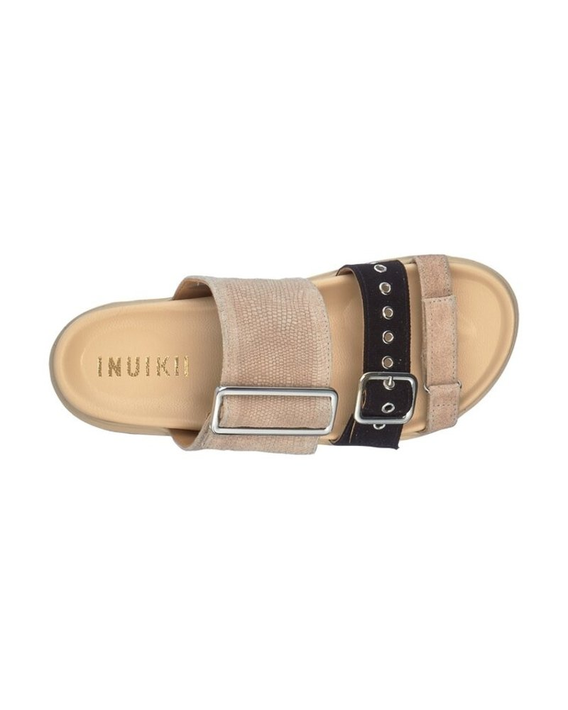 Inuikii Leather Straps Platform