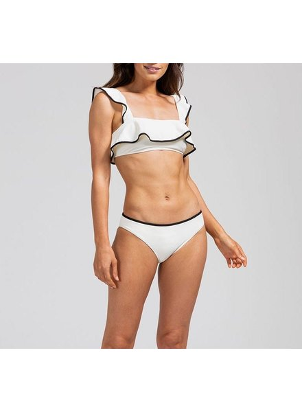 Eberjey Pique Bandeau Flutter Bikini