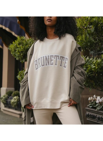 Brunette The Label Brunette NYBF Crew