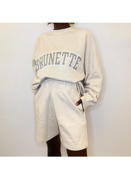 Brunette The Label Best Friend High Rise Shorts