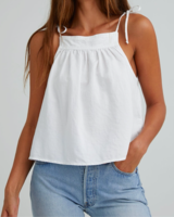 Bella Dahl Tie Shoulder Tank