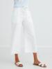Bella Dahl Button Front Wide Leg Crop