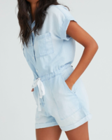 Bella Dahl Button Front Romper