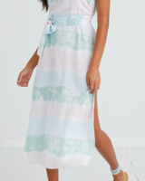 Bella Dahl Smocked Waist Maxi Dress