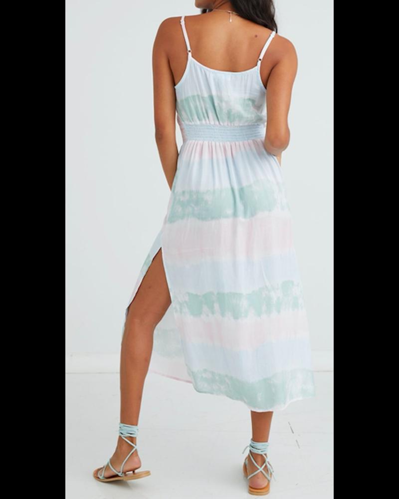 Bella Dahl Smocked Waist Maxi Dress