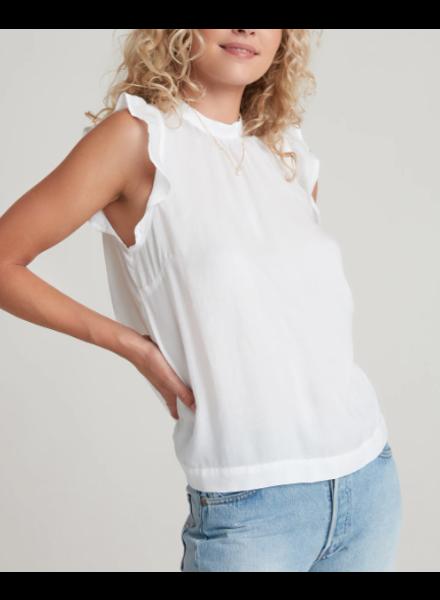 Bella Dahl Ruffle Sleeve Button Back Blouse