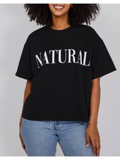 Brunette The Label Natural Serif Tee