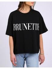Brunette The Label Brunette Serif Tee