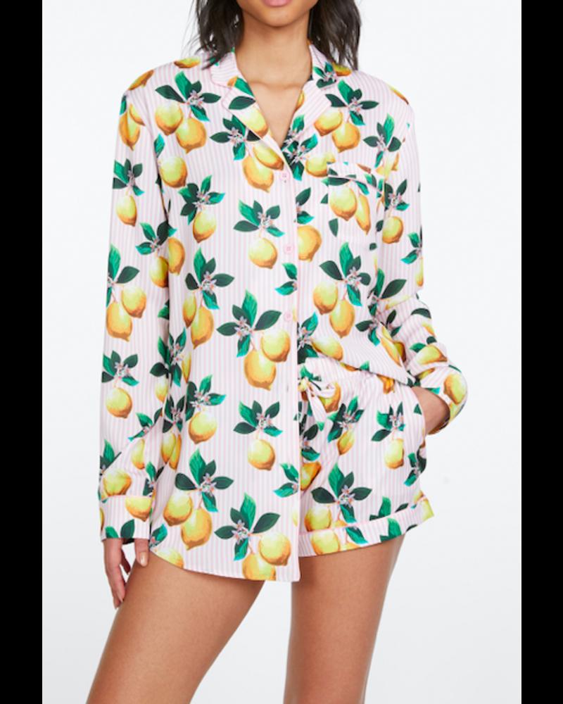 Generation Love Sophie Lemon Pajama Set