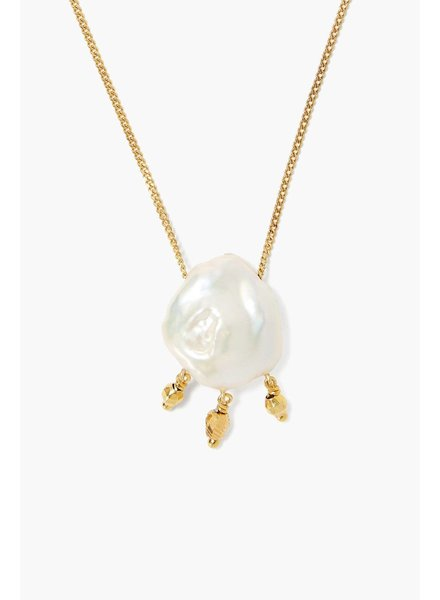 Chan Luu Floating Gold Necklace