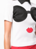 Alice + Olivia Linden Stace Face Collar Sweater