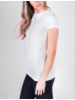 Majestic Soft Touch Crew Neck Tee
