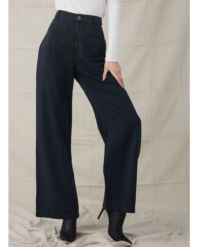Bella Dahl Patch Pocket Wide Leg
