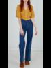 Autumn Cashmere Puff Sleeve Pointelle Cardigan