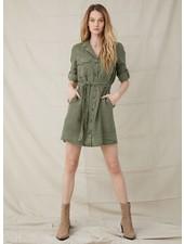 Bella Dahl Belted Utility Shirt Dress