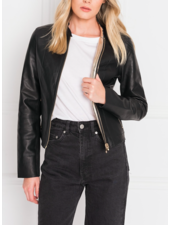 LAMARQUE Chapin Reversible Leather Bomber