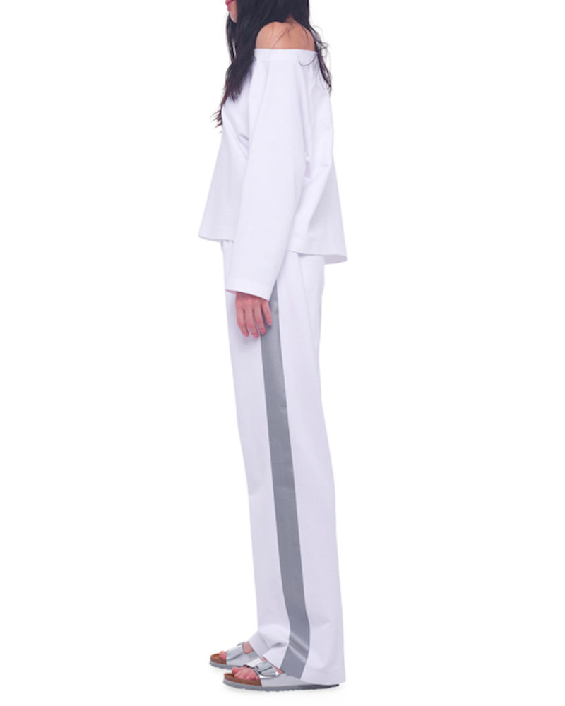 Norma Kamali Drop Shoulder Sweatshirt