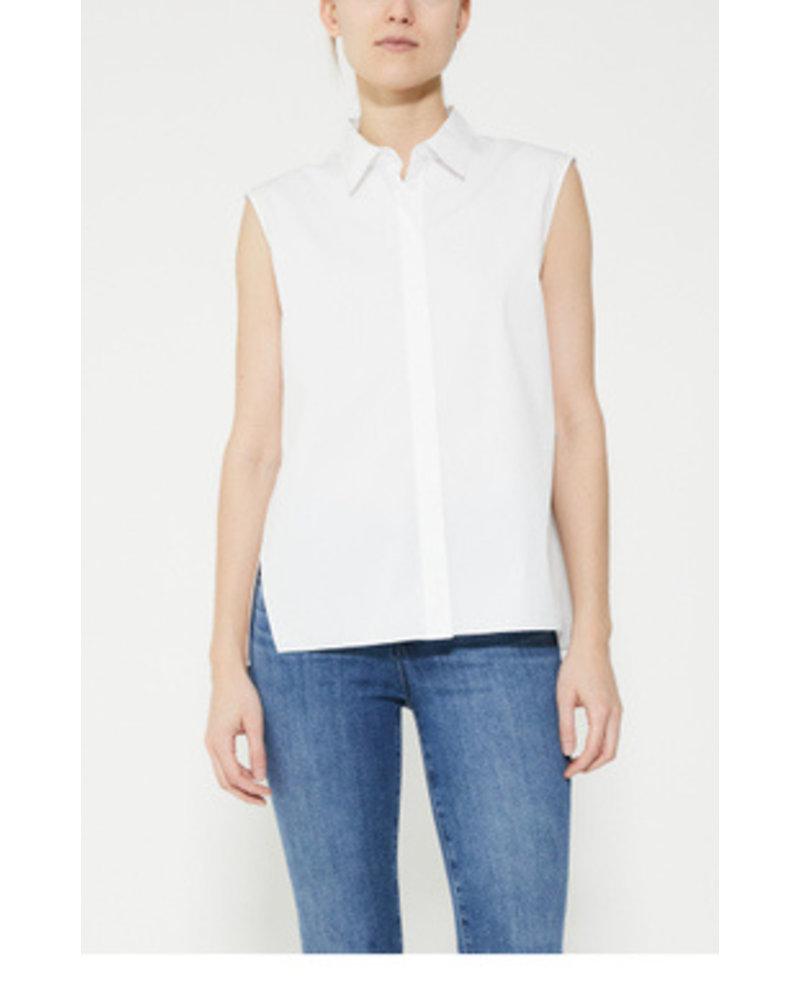 Theory Sleeveless A-Line Shirt