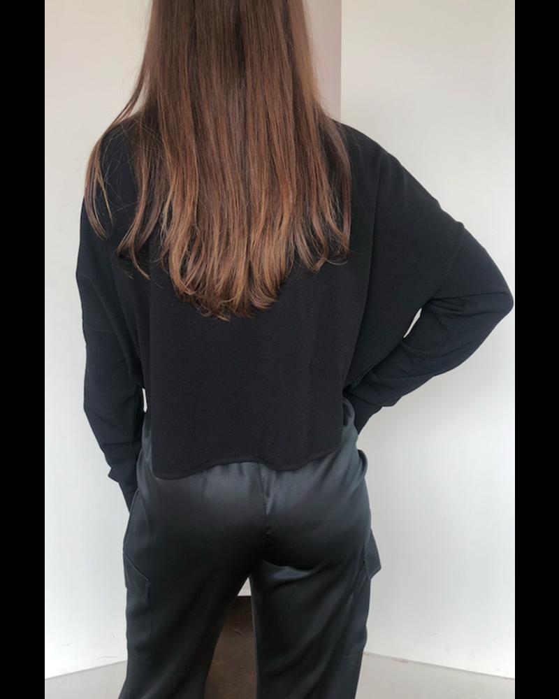 Sarah Pacini Round Hem Knit
